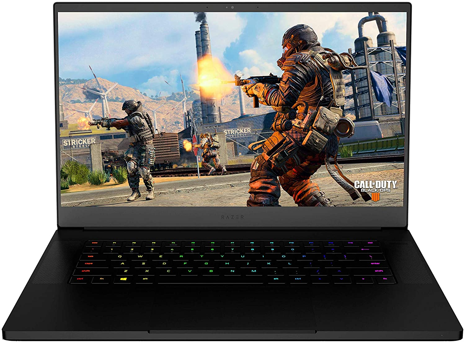 Amazon Com Razer Blade 15 World S Smallest 15 6 Gaming Laptop 60hz Full Hd Thin Bezel 8th Gen Intel Core I7 8750h 6 Core Nvidia Geforce Gtx 1060 Max Q 16gb Ram