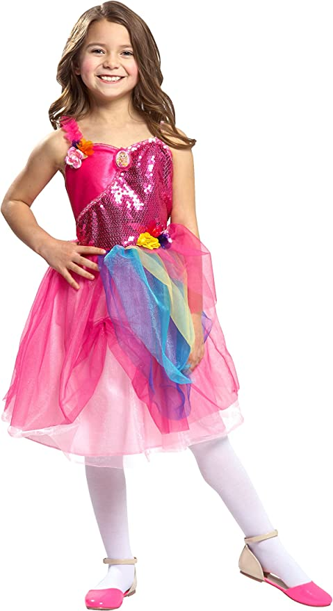 Barbie And The Secret Door Alexa Deluxe Girl/'s Costume