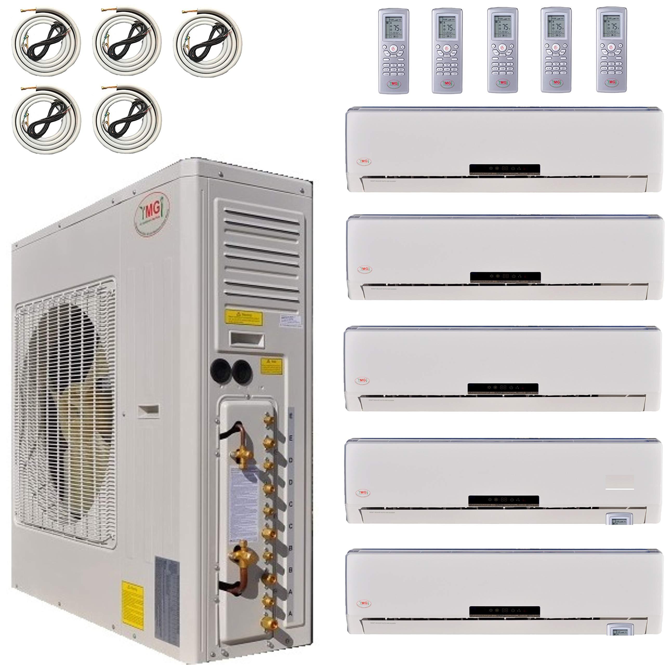 Multi Zone Mini Split Ductless Air Conditioner Five Zone