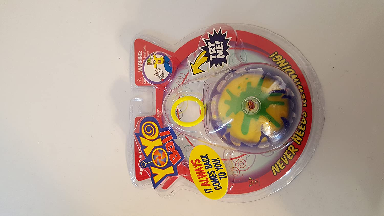 amazon com yo yo ball assorted color and styles vary toys u0026 games