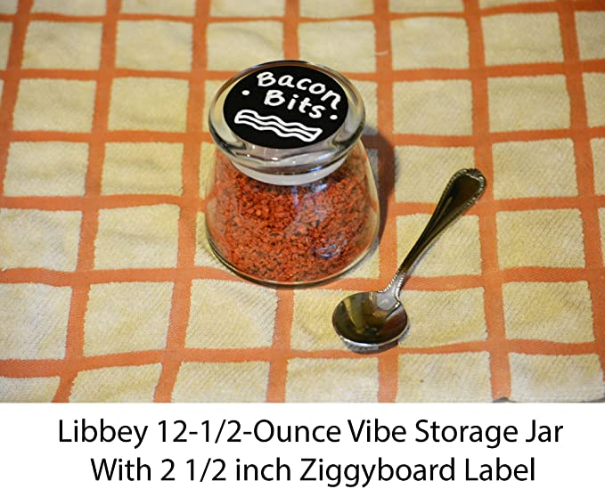 Amazon.com: cohas pizarrón Etiquetas en 2.5 inch forma ...