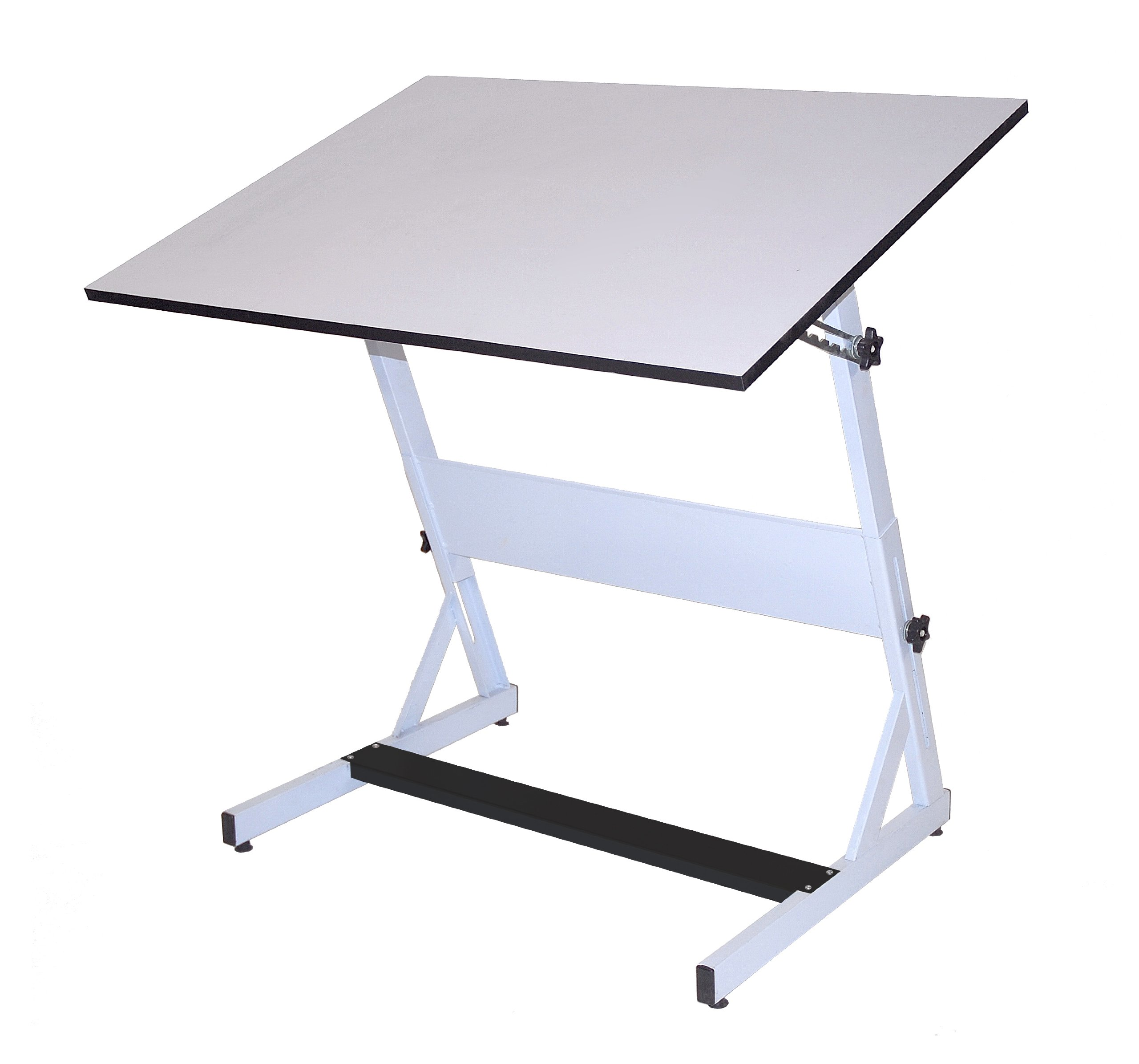 Martin MXZ Drawing and Drafting White Table, 30'' D x 42'' W Tiltable Top, 1 Each , by Martin