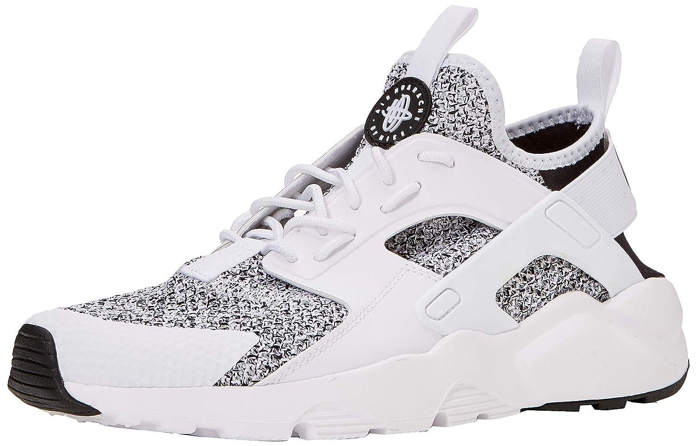 Nike Air Huarache Run Ultra Trainers Total Crimson White Black 819685 008 Mens Womens Running Shoes 819685 008