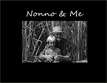 infusion gifts it 3024 sb nonno and me engraved frame small black - Engraved Frame