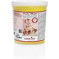 Saracino Pasta fondant Model Amarilla Para modelar De