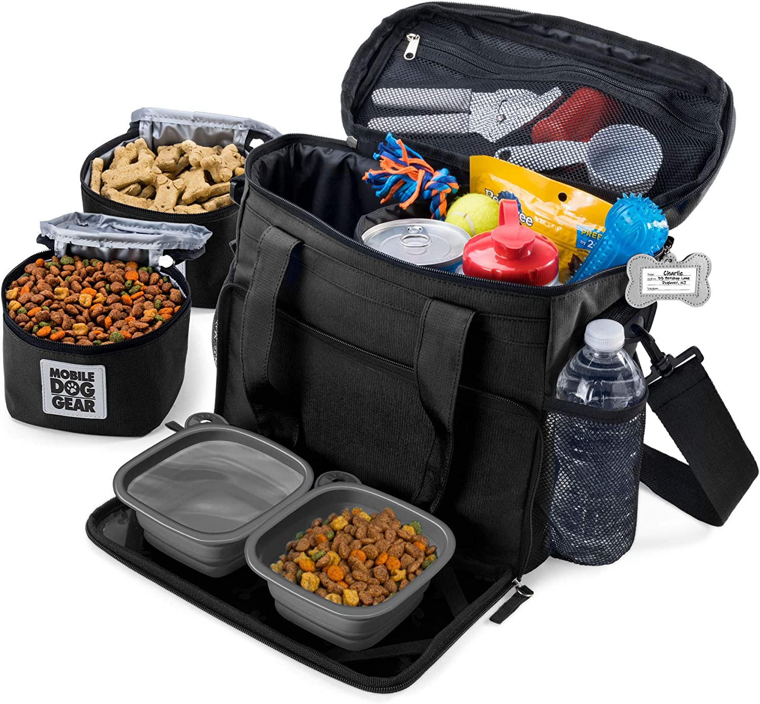Mobile Dog Gear Week Away Bag Small Dogs Black