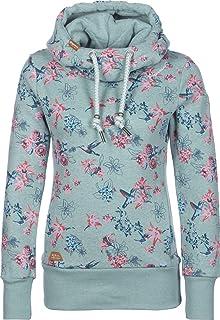 bef64fd4cbfa44 Ragwear Damen Sweatshirt Kapuzenpullover Yoda Flowers  Amazon.de ...
