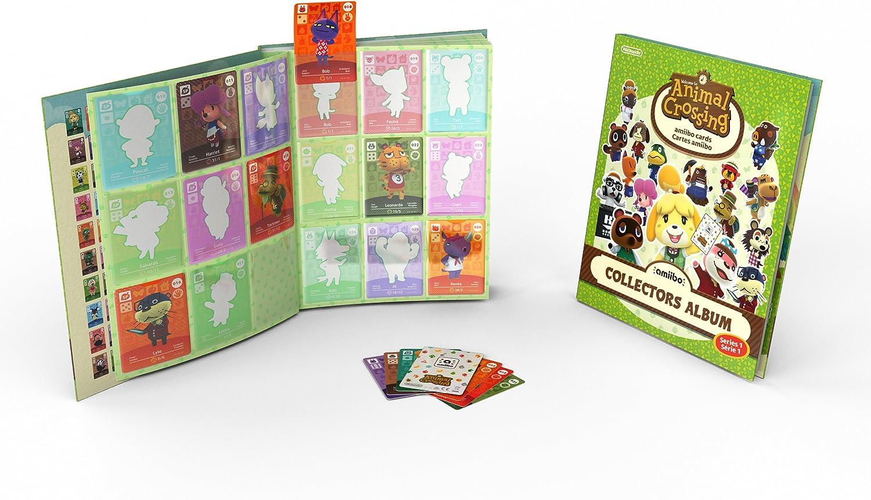 Nintendo - Pack De 3 Tarjetas Amiibo Animal Crossing HHD + Album: Amazon.es: Videojuegos