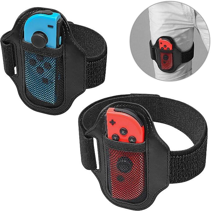 2Pack] Ring Fit Adventure Band para Nintendo Switch JoyCon, para Switch Ring Fit Adventure Bundle Bein-Befestigungsband Sports Strap: Amazon.es: Electrónica