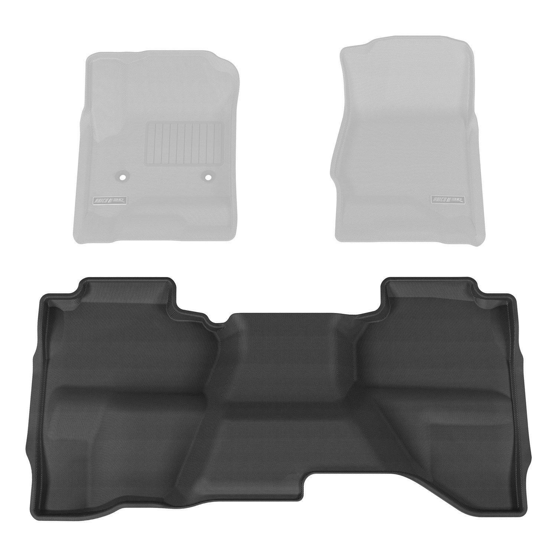 Aries CH03921509 Black Rear 3D Floor Liner