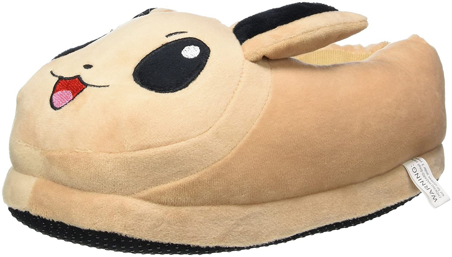 Carchet - Pokemon plush slippers - Eevee (brown) - Unisex one size slippers  for adults (they fit UK sizes- 3.5-10)  Amazon.co.uk  Toys   Games 01891a1585
