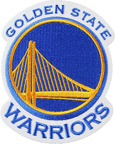 Amazon Com Golden State Warriors Primary Team Logo Patch Clothing