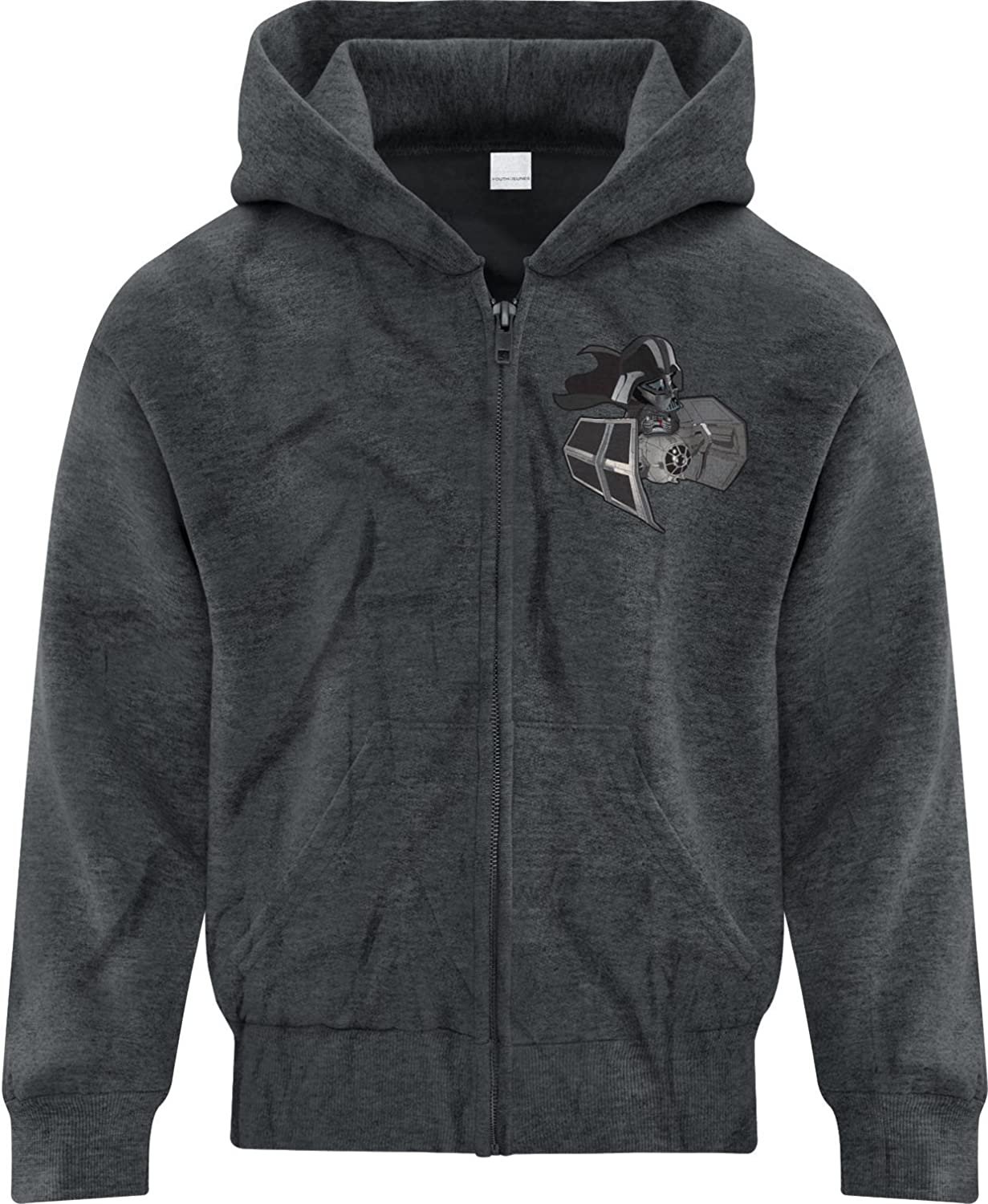 BSW Youth Girls Baby Darth Vader Star Wars Tie Fighter Zip Hoodie
