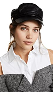 Amazon.com  Hat Attack Women s Emmy Cadet Cap w Interchangeable Rope ... 28e9eadba54
