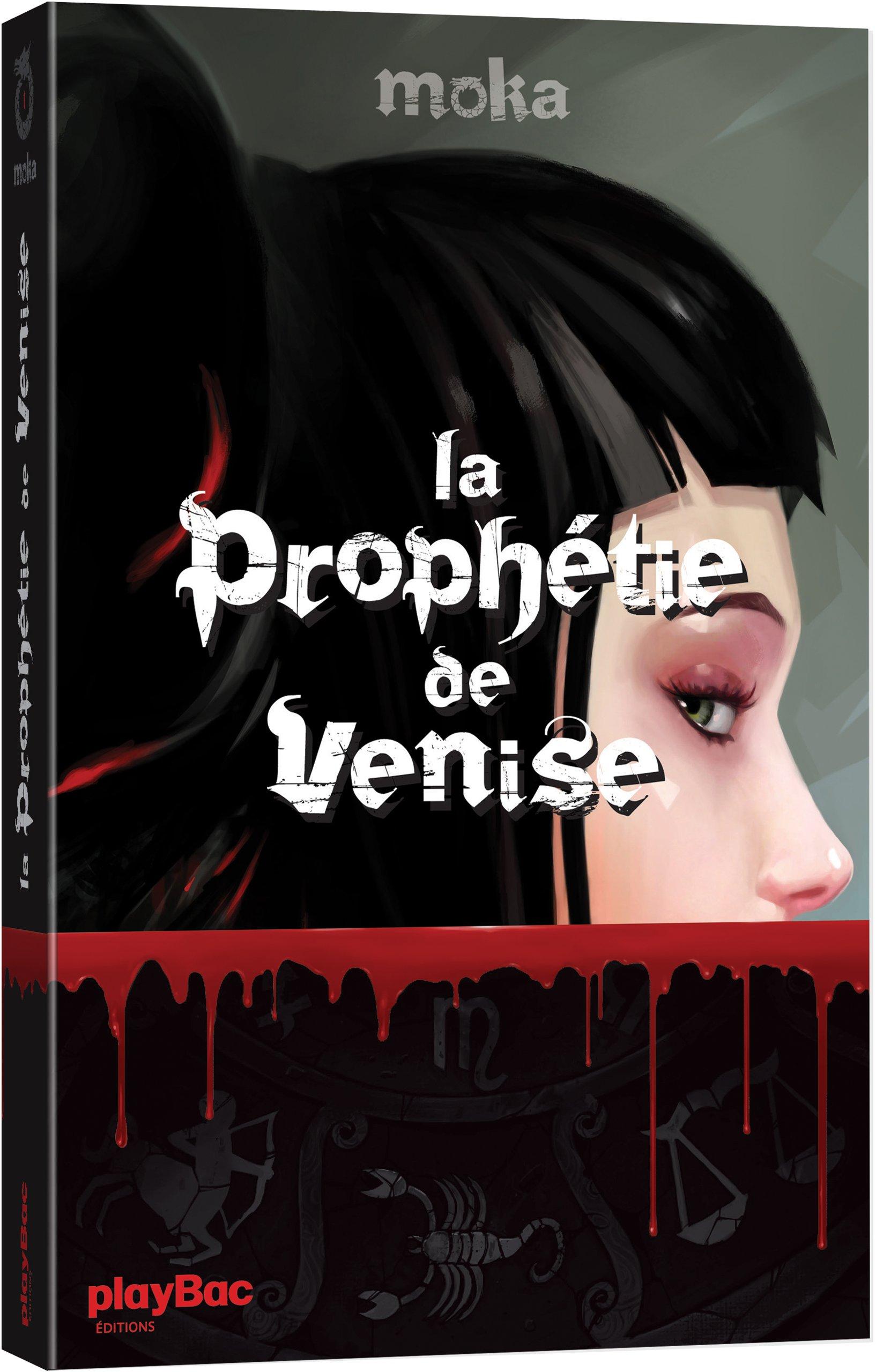 """Résultat de recherche d'images pour """"LA PROPHÉTIE DE VENISE, T.1 - MOKA"""""""