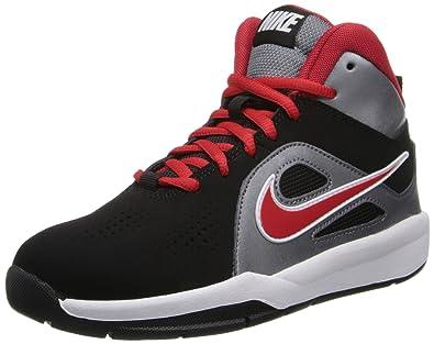 c72be0e08a9 Nike Team Hustle D 6 (Gs) 599187-006 Jungen Basketballschuhe Schwarz (Black