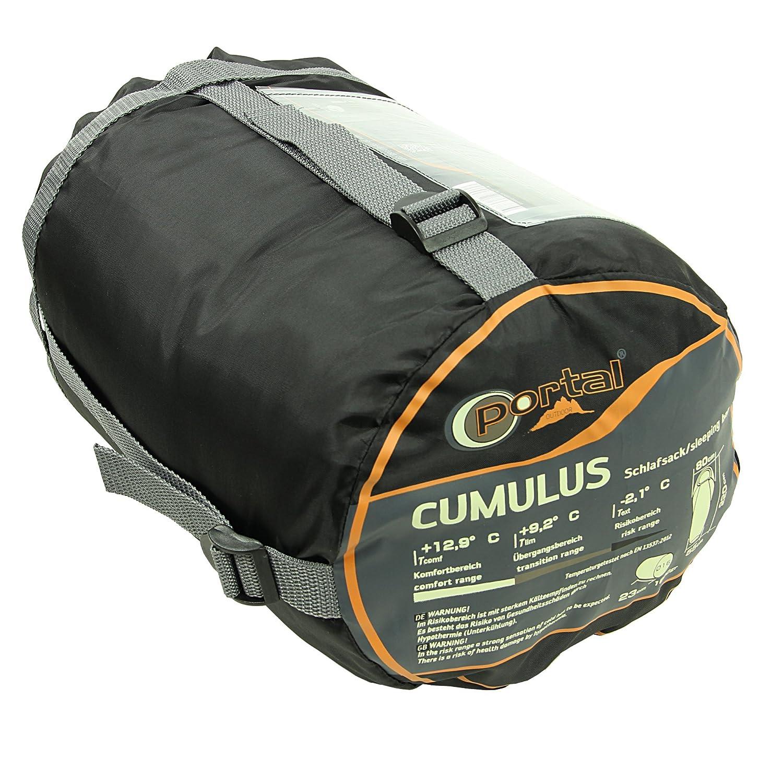 Unbekannt - Portal Cumulus - Saco de Dormir Momia, 220x80 / ??55, 1100g, -2.1 ° c (ext), 9,2 ° c (LIM), 12,9 ° c (Comf): Amazon.es: Deportes y aire libre