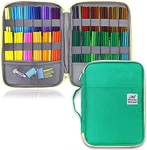 Estuche para lápices con 96 ranuras de YOUSHARES: Amazon.es: Juguetes y juegos