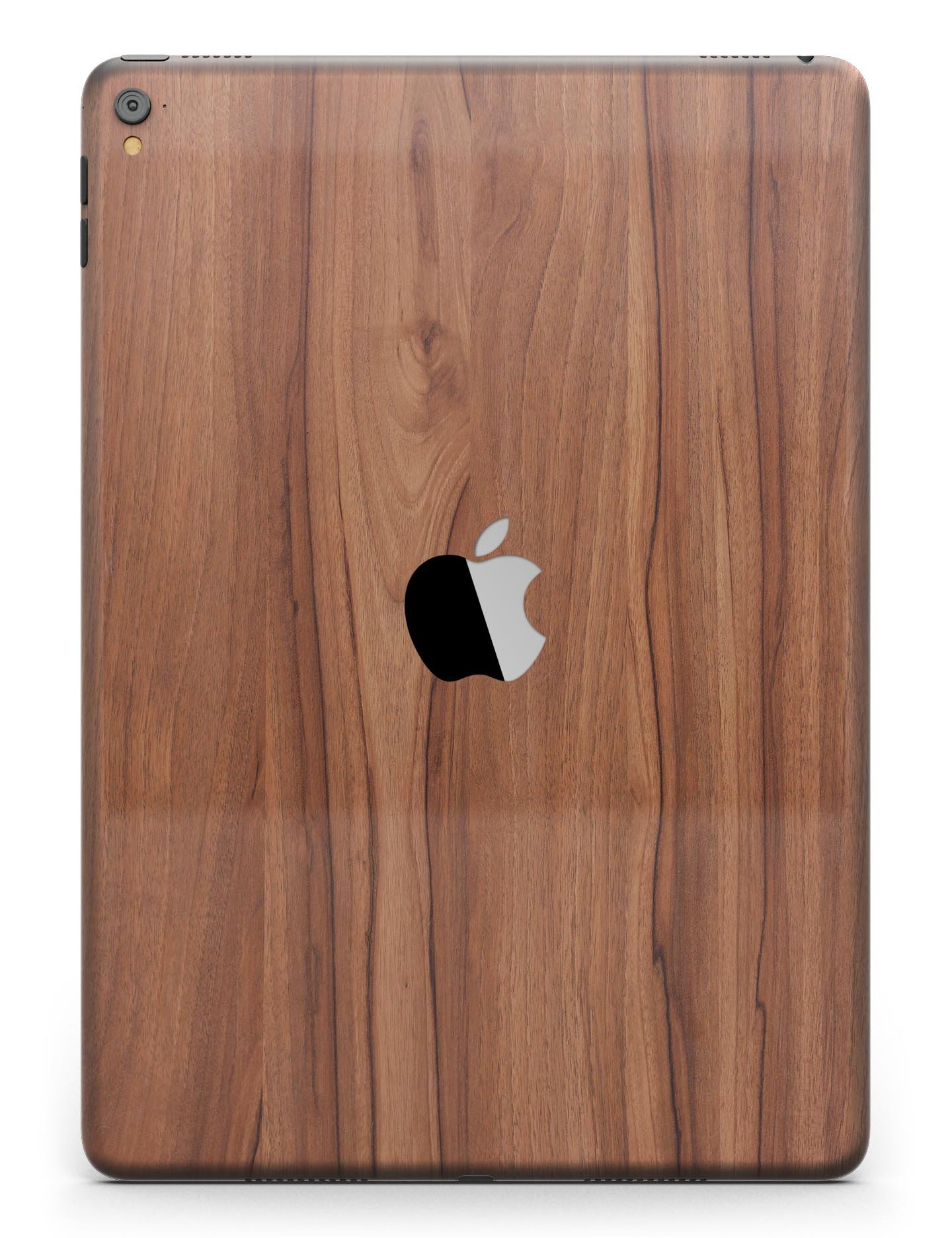 Wood Pattern Design Skinz Premium Full-Body Cover Wrap Decal Skin Kit for the Apple iPad Pro 10.5-inch (A1701/A1709) - Smooth-Grained Wooden Plank