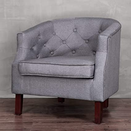 Amazoncom Cloud Mountain Accent Chair Modern Upholstered Leisure