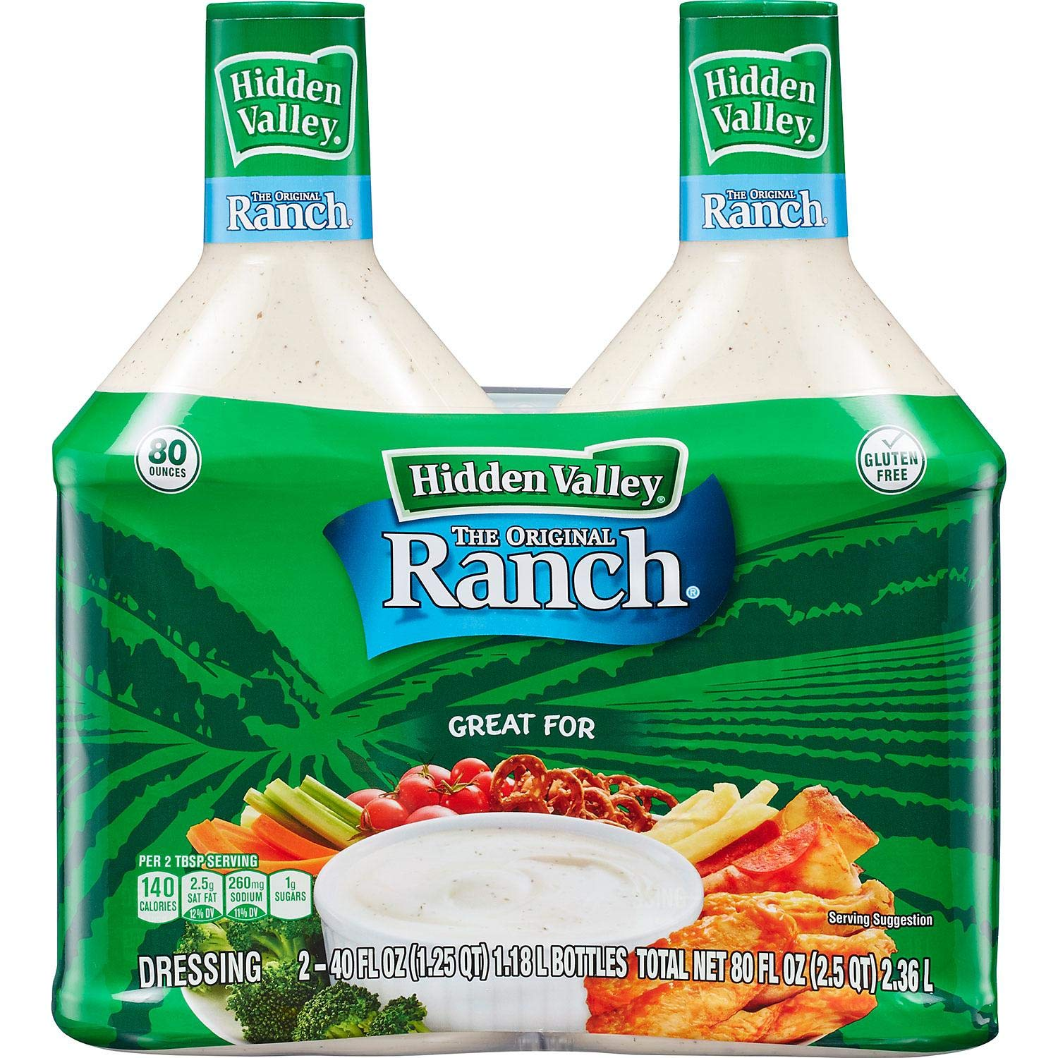 Hidden Valley Ranch - 2/40 Oz. Btls.