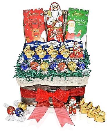 Amazon Com Lindt Valentine S Day Chocolate Variety Gift Basket