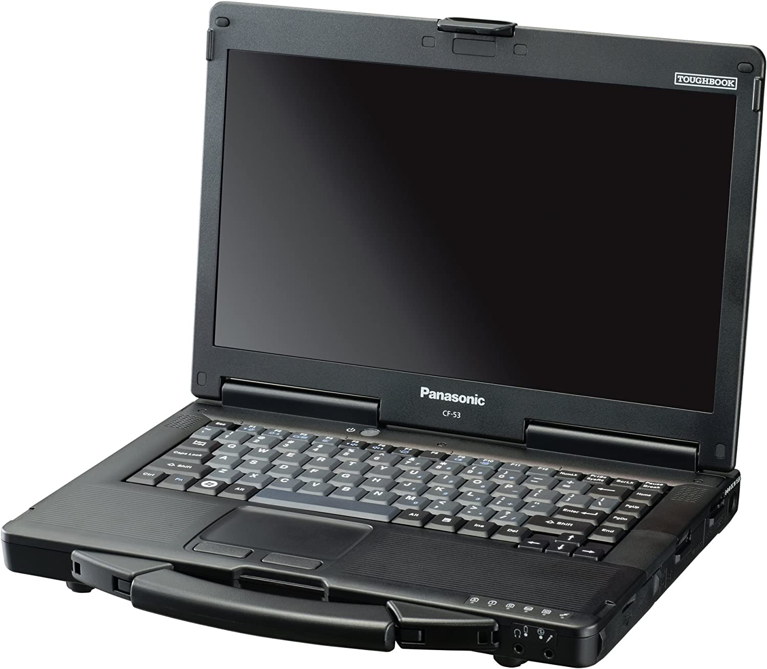 "Panasonic Toughbook 53 Lite 14"" Notebook - Windows - Intel Core i5 2 GHz - 4 GB RAM - 320 GB HDD, Black/Silver (CF-532JCZYNM)"