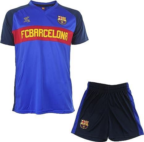 collezione ufficiale FC Barcelona pantaloncini del Barcelona Completo divisa maglietta da bambino