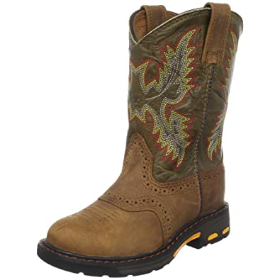 10fb8db5b67 Ariat Kids' Workhog Pull-on Western Boot