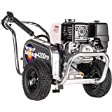Simpson Cleaning ALWB60828 Water Blaster Gas Pressure Washer Powered by Honda GX390, 4200 PSI at 4.0 GPM, CAT Triplex Pump, (