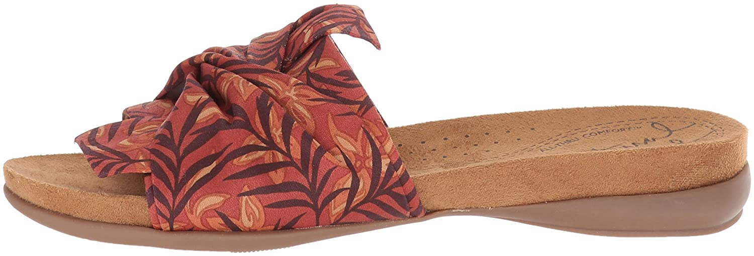 NATURAL SOUL Women's 6.5 Adalia Slide Sandal B0788BR7G1 6.5 Women's W US|Sunset 602384