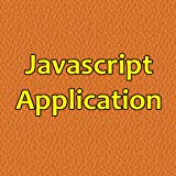 Javascript Application