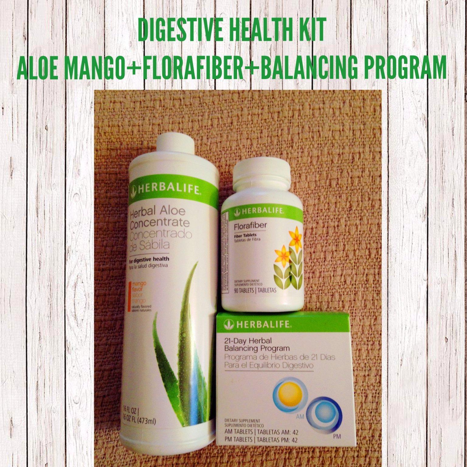 DIGESTIVE HEALTH PROGRAM MANGO FLAVOR/COMBO KIT HERBALIFE
