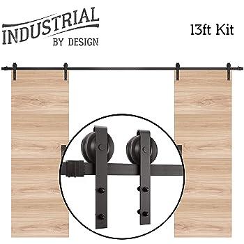 Industrial By Design 8FT Barn Door Hardware Kit