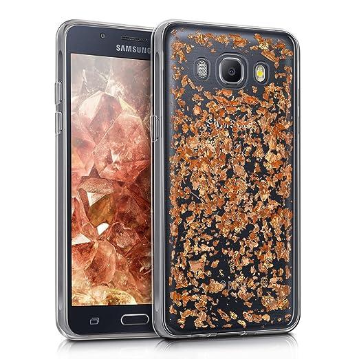 4 opinioni per kwmobile Cover per Samsung Galaxy J5 (2016) DUOS- Custodia in silicone TPU- Back