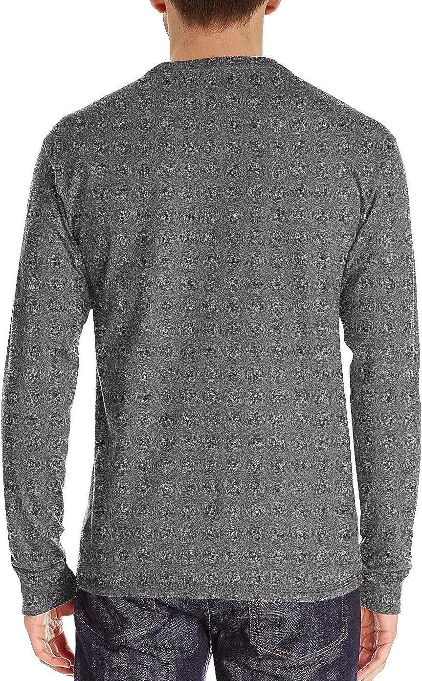 NITAGUT Mens Fashion Casual Front Placket Basic Long/Short Sleeve Henley T-Shirts at  Men's Clothing store