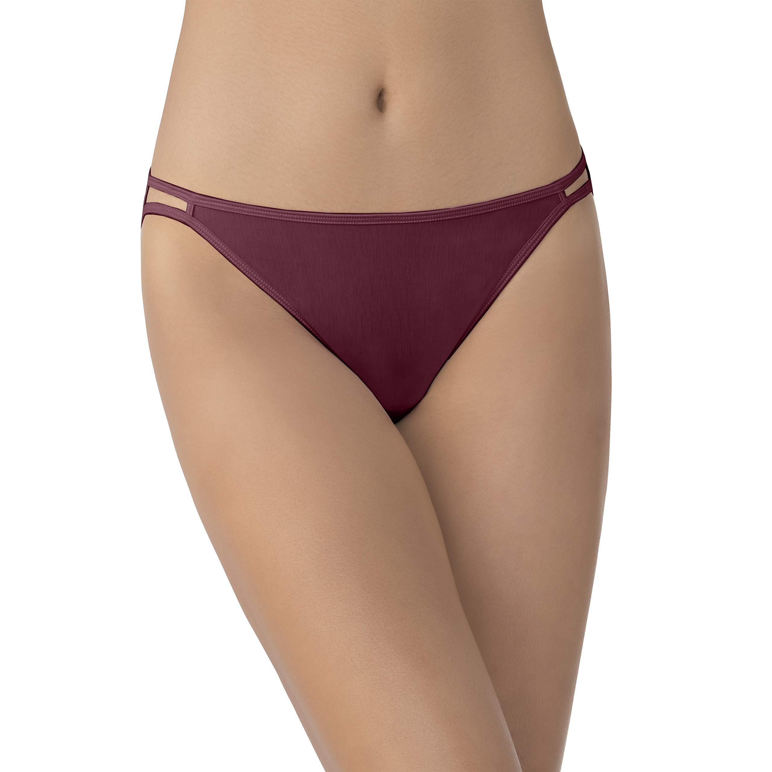 Vanity Fair Women's Illumination String Bikini Panty 18108, Love Spell 2, X-Large/8
