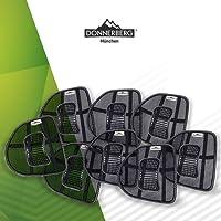 Lordosenstütze I Donnerberg Original Rückenstütze I Lendenwirbelstütze I Haltungskorrektur der Lendenwirbelsäule I Für Stuhl, Bürostuhl, Autositz I Setwahl,1-er,2-er,4-er,6-er und 8-er Set