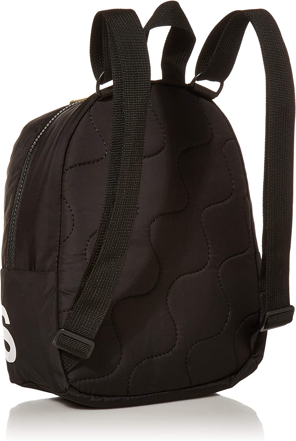 adidas Linear Mini Backpack, Black/White/Gold, ONE SIZE: Clothing