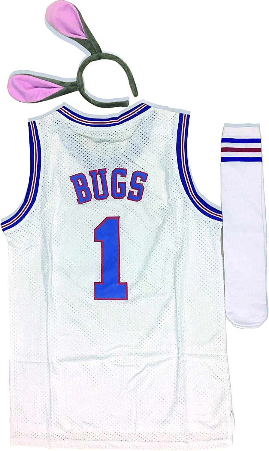 XLarge tune squad space jam movie basketball Shorts jersey looney for Adult Standard US Size