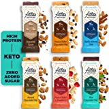 Atlas Protein Bar, Meal Replacement, Keto Snack, 10 pack, Ultimate Pack of Chocolate Cacao, Peanut Butter Choc. Chip, Vanilla