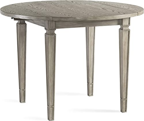Bassett Mirror Company Bellamy Drop Leaf Round Dining Table