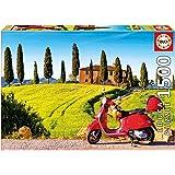Educa Borrás 1500 Moto en la Toscana, puzzle (17121)