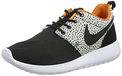 bb17042766e2 Nike Roshe One Safari (GS) Black Orange White 820339-001 (