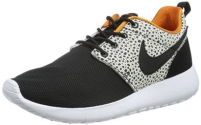 2fe6729d2ae4e Nike Roshe One Safari (GS) Black Orange White 820339-001 (