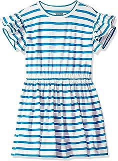 c8e2bc03fbb03 Amazon.com: LOOK by crewcuts Girls' Ruffle Hem Tank Dress: Clothing