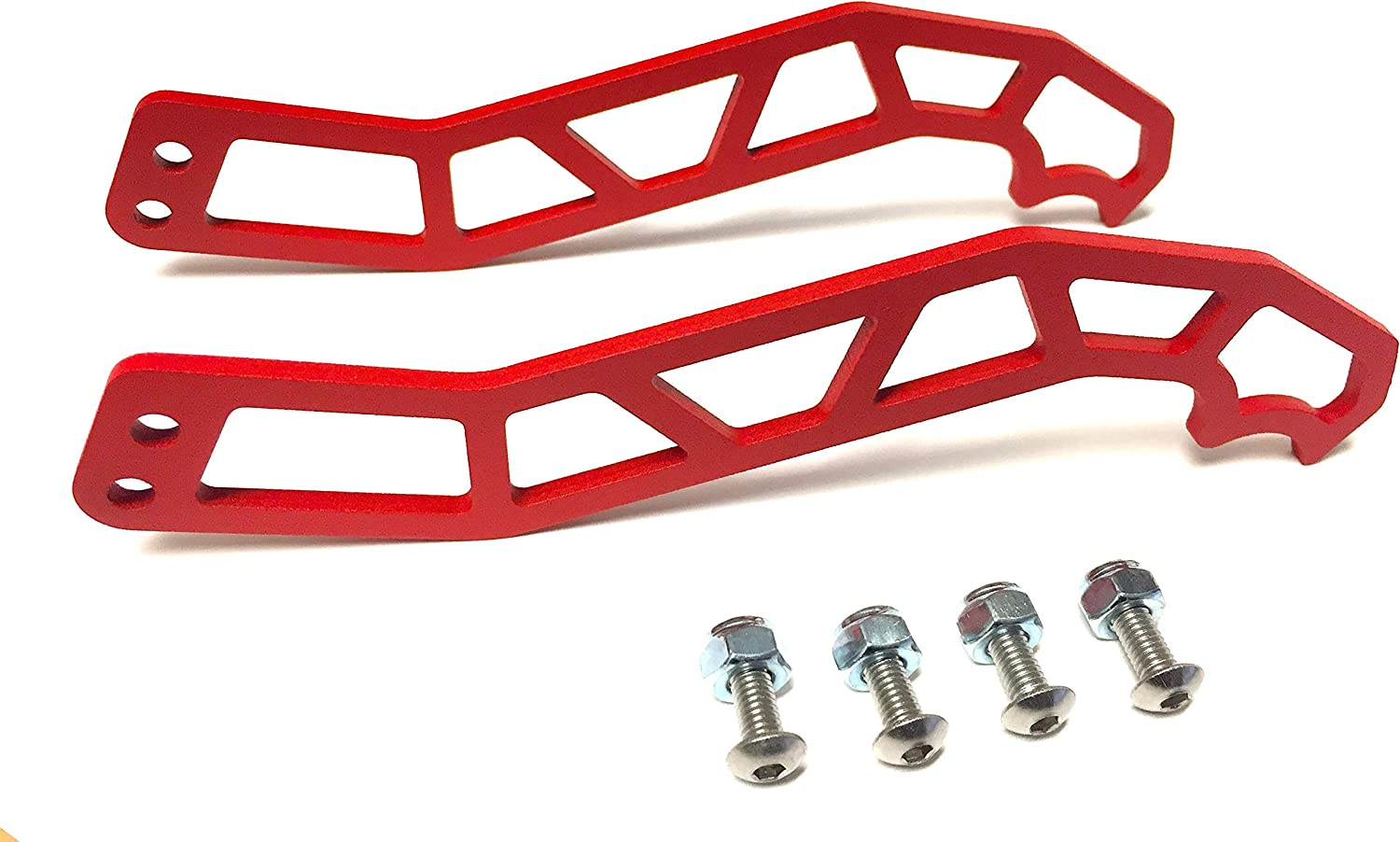 Lesiyou Door Handle Latches Sets for Can-Am Maverick X3 X DS RS Turbo R Max 2 /& 4 Door 2017-2020,Red