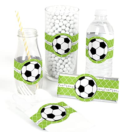 Amazon Com Goaaal Soccer Diy Party Supplies Baby Shower Or