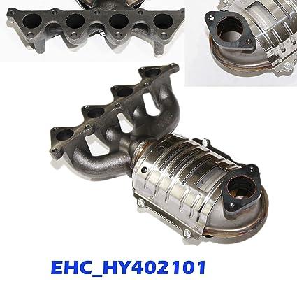 OE Style Catalytic Converter Front Exhaust Manifold for Hyundai Accent Kia Rio Rio5 06-11
