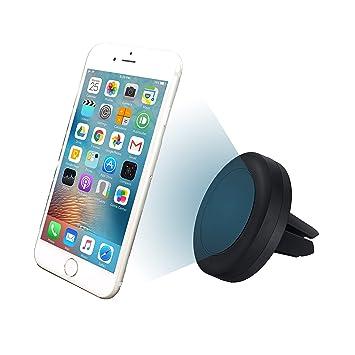 MyGadget Soporte Móvil Coche Universal para la Rejilla de Ventilación - Agarre Magnético para Smartphone ej